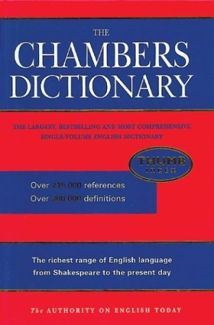 The Chambers Dictionary, w. Thumb Index