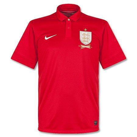 Nike ENT SS Away Repl JSY 2013-14 England Away Jersey (585520-657) (England Away Jersey)