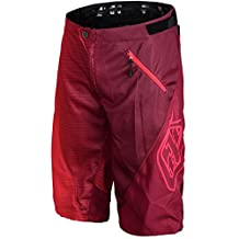 Troy Lee Designs Sprint 50/50 Men's BMX Bicycle Shorts - Red