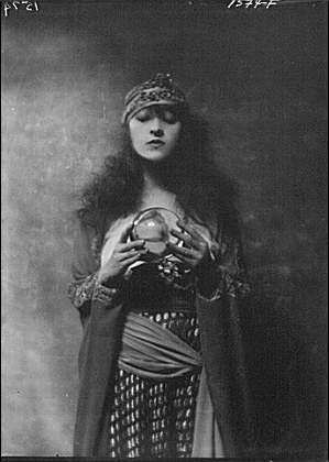 Fortune Teller Costume Images (Photo: Dolly sister,fortune teller,costumes,portrait photographs,women,A Genthe,1916)