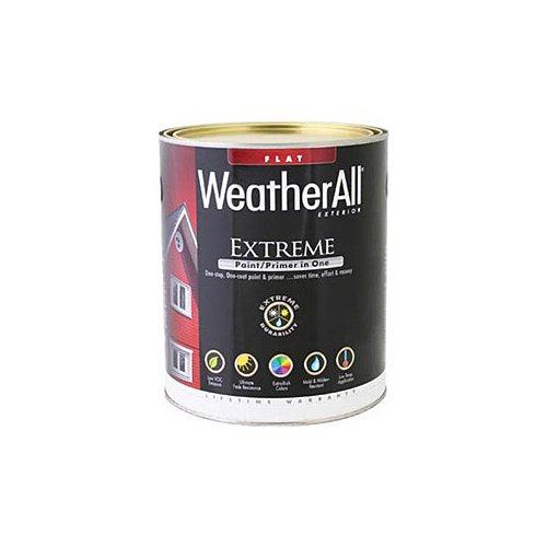 true value mfg company waef14-qt WAEF14, True Value, Premium Weatherall Extreme Paint/Primer In One, QT, Black by True Value Hardware