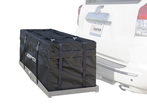 Keeper 07208 Black Waterproof Hitch Rack Bag (11 Cubic Feet) (Hitch Sack)