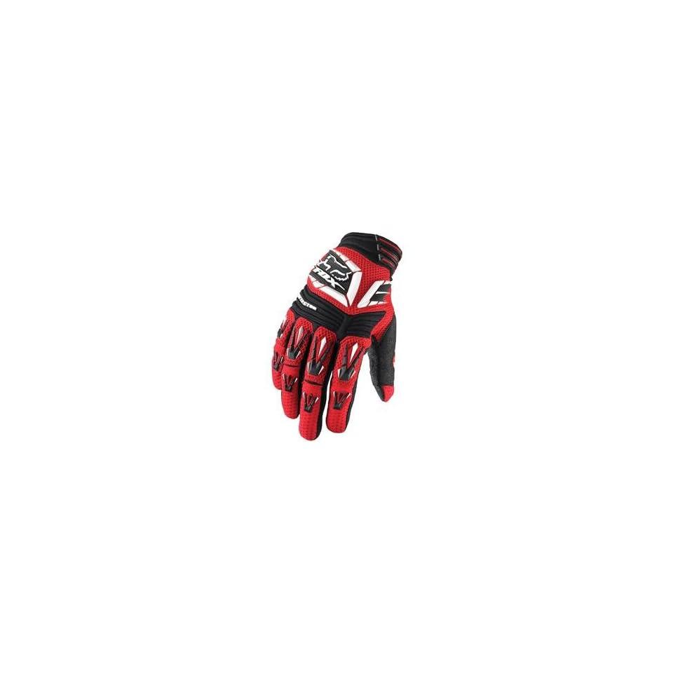 Fox Racing Pawtector Gloves   11/Red