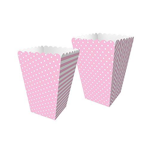 Regina Caixa Mini Pipoca Fa R578 Festa Colors Rosa Bebe Pacote De 8 unidades