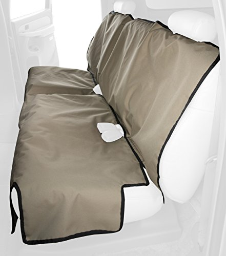 Canine Covers Econo 2nd Row Semi-Custom Fit Seat Protector - Polycotton (Tan) by Canine Covers