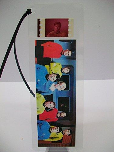 STAR TREK TV Color Movie Film Cell Bookmark Collectible Cinema Memorabilia complements poster dvd