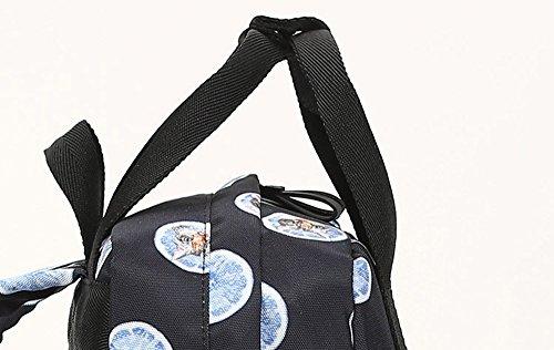 Bolso de múltiples funciones de la madre del paquete de la mamá del paquete de la madre del bolso de hombro del bolso de la madre del ocio ( Color : Verde ) Negro