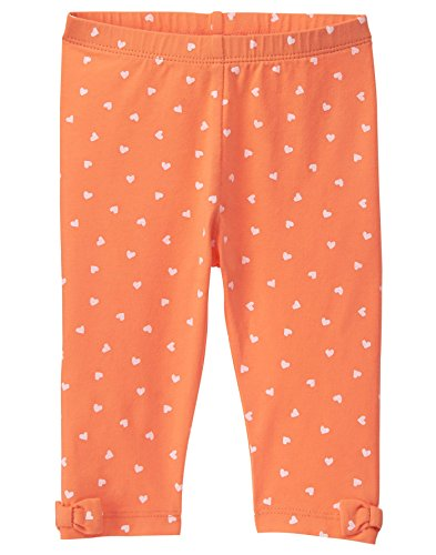 Gymboree Baby Girls Harvest Legging, Orange 18-24 mo