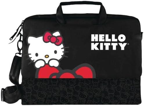 Amazon.com  Hello Kitty Kt4335B Hello Kitty Notebook Bag (Black)  Computers    Accessories 2c373983276b9