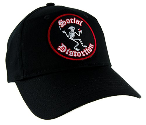 Social Distortion Band Hat Baseball Cap Punk Rock Alternative Clothing Ball and - Ball And Chain Hat