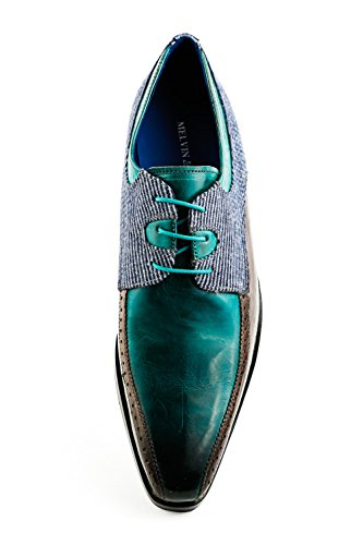à Lacets MH15 Hamilton Homme 1121 Ville pour de Melvin Türkis Turquoise amp; Chaussures qSOwRxUUA