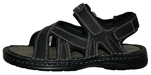 Northwest Territory - Sandalias de vestir para hombre Negro - Black strappy