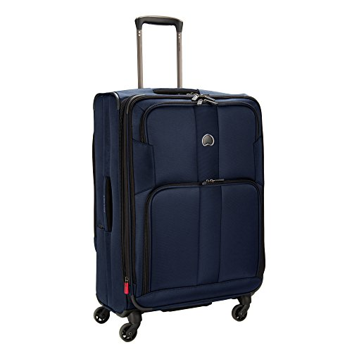 - DELSEY Paris Delsey Sky Max 25-Inch Expandable Spinner Upright (Blue)