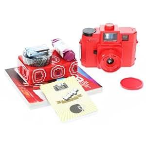 Lomography Holga Red Starter Kit (Red)