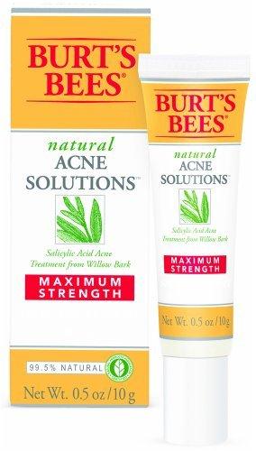 Burts Acne Spot Crm Max Size .5 Oz Burts Bee Acne Max Sport Cream 0.5oz (Spot Targeted Treatment)
