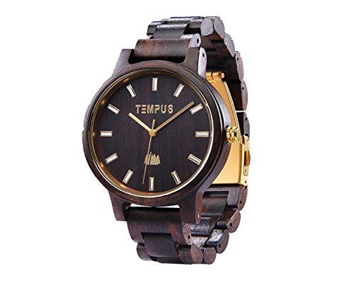 TEMPUS Classico Sandalwood Wooden Wristwatch