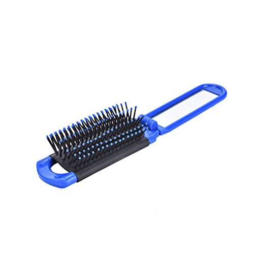 Malibu Fabric Sofa (MIJORA-1X Portable Travel Folding Hair Brush With Mirror Compact Pocket Size Comb(color:blue))
