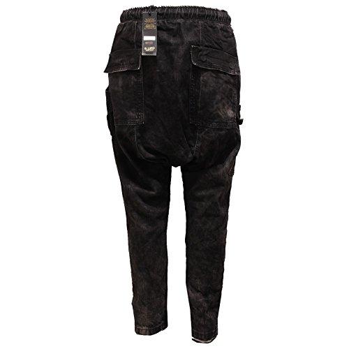 9307q Nero Lupo Trouser Gianni Pantalone Men hombre grigio Pant Jeans Nero TXOfA1TW