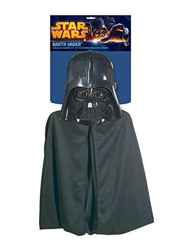 Rubie's Costume Co - Darth Vader Mask And Cape - One Size -