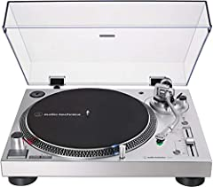 This update of the AT-LP120-USB turntable features a new DC servo direct-drive motor, along with adjustable dynamic anti-skate control and selectable phono preamplifier. The fully manual turntable plays 33-1/3, 45, and 78 RPM records and is e...