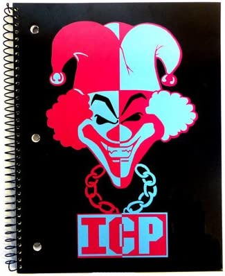 Joker Notebook Insane Clown Posse