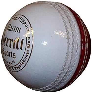 Martin Berrill Sports Red//White Training Cricket Ball