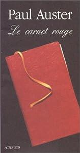 """Afficher """"Le Carnet rouge"""""""