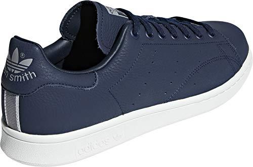 da Smith F17 Scarpe blu multicolore corsa uomo Adidas navy bianco grigio da Stan Bd7450 cristallo tre YFrS6nY