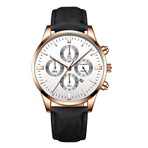 Men's Watches Fashion Simple Watches,Ultra Thin Wristwatches,Quartz Mitiy Men Watches Chronograph Watch for Men