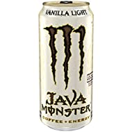 Java Monster, Vanilla Light, 15 Ounce (Pack of 12)
