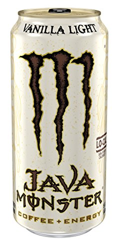 Java Monster, Vanilla Light, 15 Ounce (Pack of 12) (Monster Energy Cans)