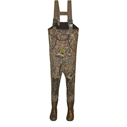 Gander Mountain Ducks Unlimited Women's 3.5MM 600 Gram MAX5 Fishing Wader CAMO Size 7