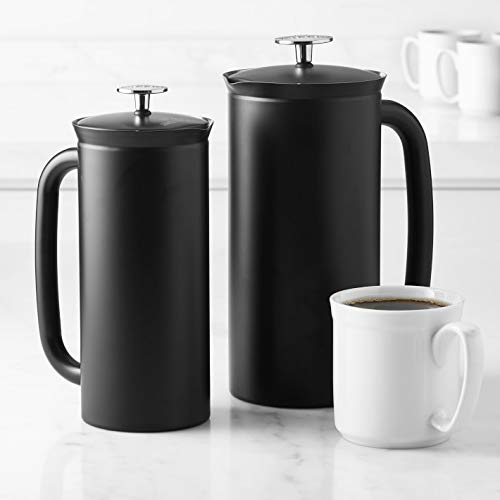 Espro Coffee Press P7-32 oz Double Wall Vacuum Insulated Stainless Steel Coffee Press, Midnight Black by Mars Band 3STM Pattern JacquieWasylnuk (Image #3)