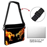 Cpmputer Carrying Case Dragon of Fire Compatible