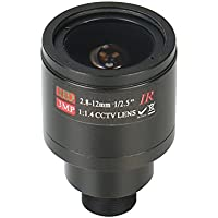 HonYan 2.8-12mm CCTV Lens M12 Mount 3.0MP 1/2.5 F1.4 CCTV Video Vari-focal Zoom Lens for CCTV Security Camera