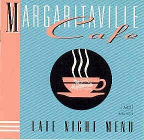 Jimmy Buffett Margaritaville Cafe Late Night Menu