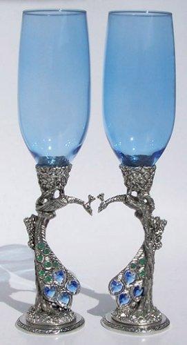 Peacock Heart Flutes