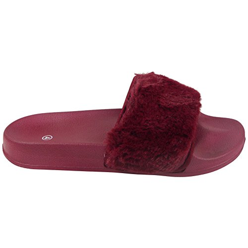 Sliders Bordeaux Look femme Look Bordeaux Loud Sliders Loud Loud femme Look OBqwxUUF