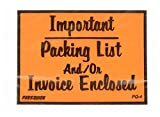 The Packaging Wholesalers 4 1/2 x 6'' Important...Packing List/Invoice Enclosed Envelope, 1000/Case (ENVPQ4)