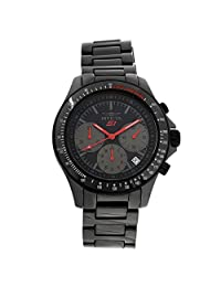 Invicta Men's 'S1 Rally' Quartz Ceramic Casual Watch, Black (Model: 22386)