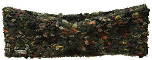 Steve Madden Women's Chunky Confetti Knit Head Band, Military, One (Acrylic Knit Headband)