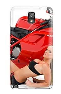 High-quality Durability Case For Galaxy Note 3(ducati Motorcycle )