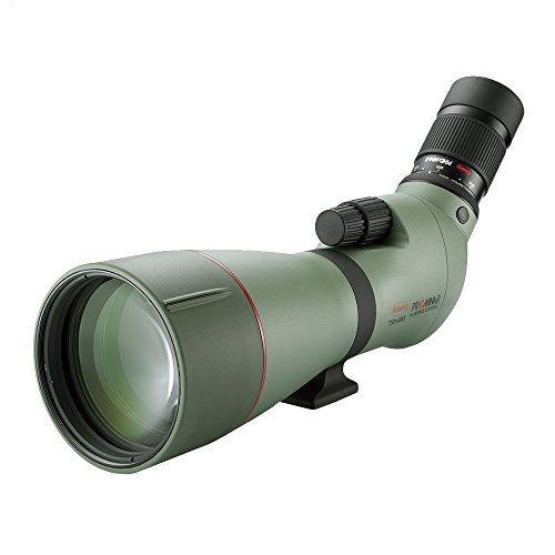 Kowa TSN-880 Series Angled Body High Performance Spotting Scope with PROMINAR Pure Fluorite Lens, 88 mm Green