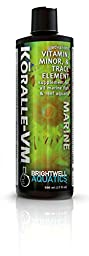 Brightwell Aquatics 17 fl. oz. Koralle-VM Vitamin and Mineral Supplement for Corals and Clams, 500 mL