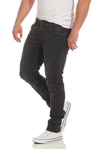 Uomo amp; Jack Jones Jeans Slim Nero IwPwZBqYx