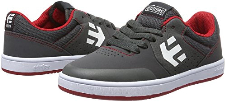 Etnies Unisex Kids' Kids Marana Skateboarding Shoes grey Size: 1.5