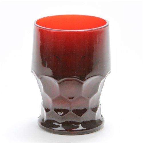 Georgian Ruby by Anchor Hocking, Glass Tumbler