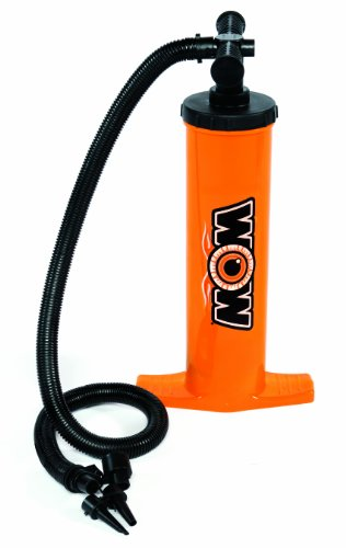 WOW World of Watersports, 13-4030, Double Action Hand Pump, Airflow with Up Stroke and Down Stroke by WOW Sports