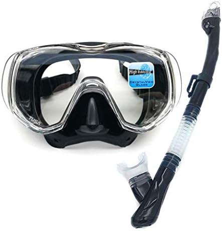 ダイビングゴーグル、スイミングスポーツ用品ゴーグルダイビングミラー大きな視野快適な強化ガラスレンズ
