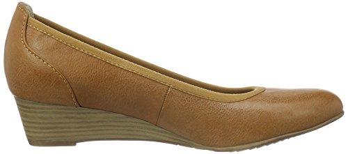 Tamaris 22304, Zapatos de Tacón para Mujer Marrón (NUT 440)